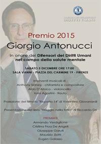 Premio Giorgio Antonucci 2015